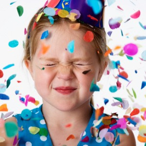Celebrate birthdays with confetti
